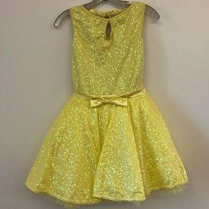 Girl Sequin Dress Costume